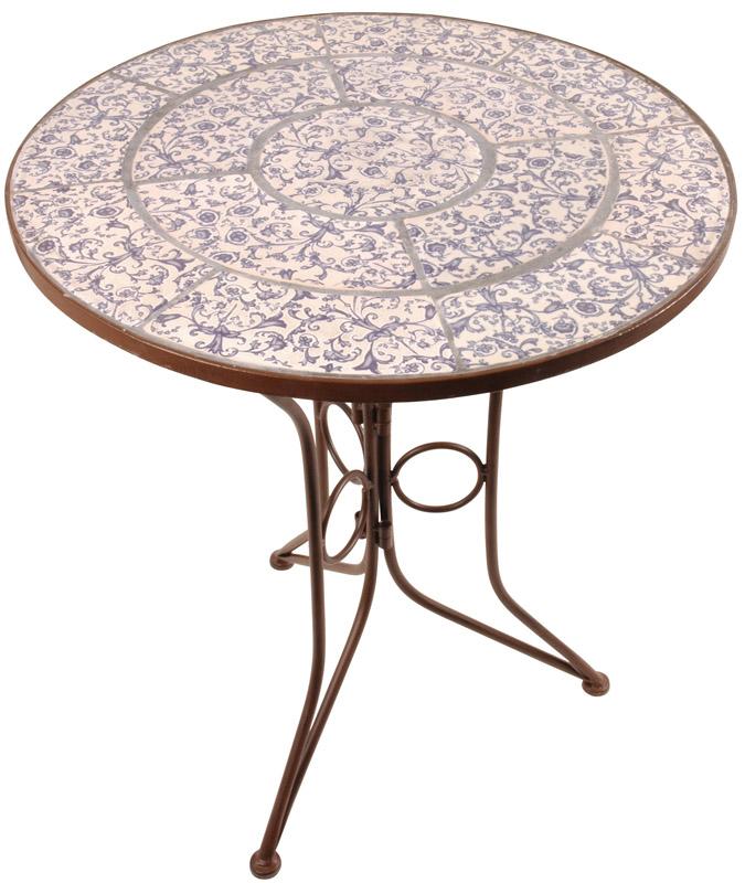 table basse jardin mosaique. Black Bedroom Furniture Sets. Home Design Ideas